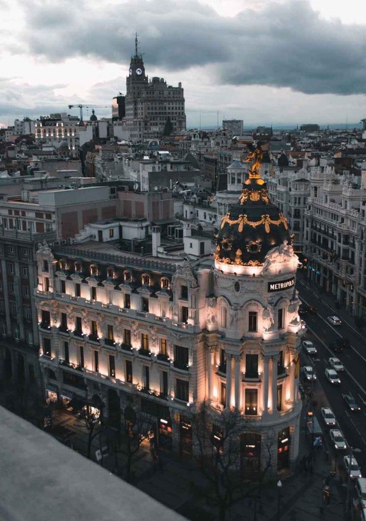 Hotéis em Madrid: localização, preço e muitas opções