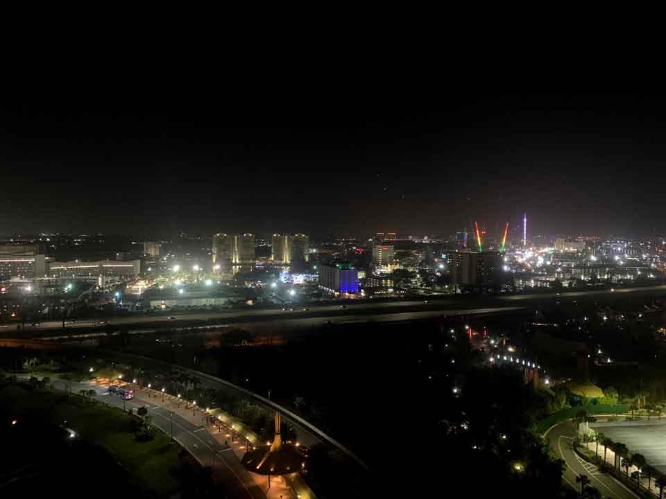 Hotéis em Orlando - Foto tirada do roof top do hotel Aventura em Orlando.