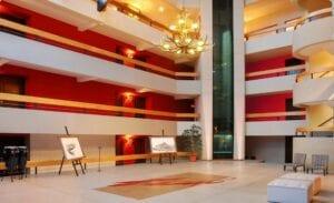 Cacique Inacayal Lake Spa Hotel hall