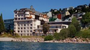 Cacique Inacayal Lake Spa Hotel vista externa