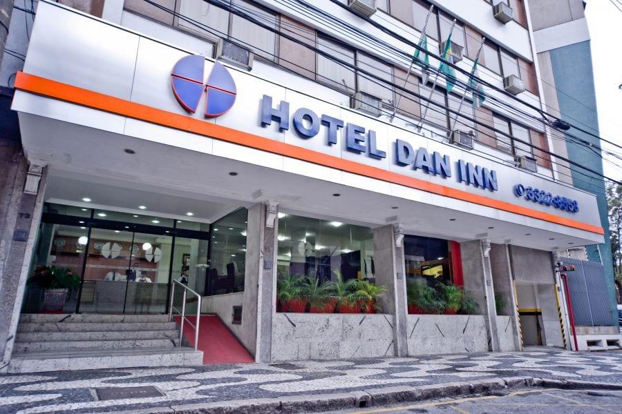 Hotéis baratos em Curitiba Hotel Dan Inn Curitiba