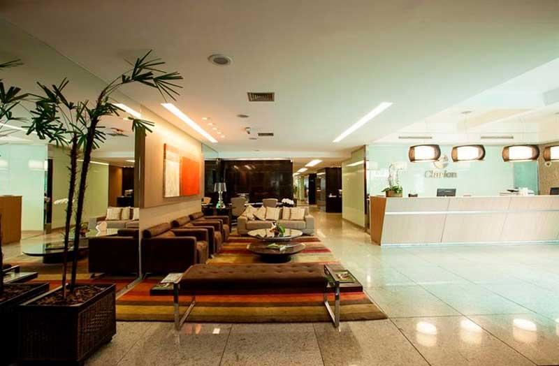 Hoteis em Belo Horizonte - Quality Lourdes