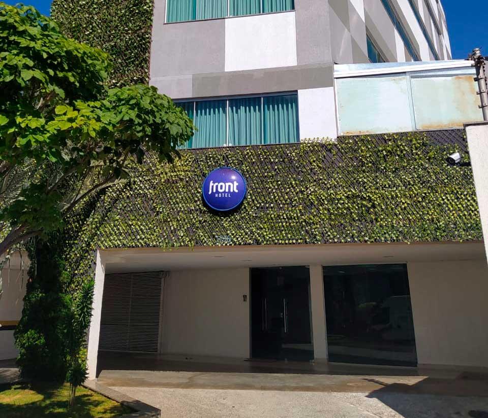 Hoteis em Belo Horizonte - Front Hotel