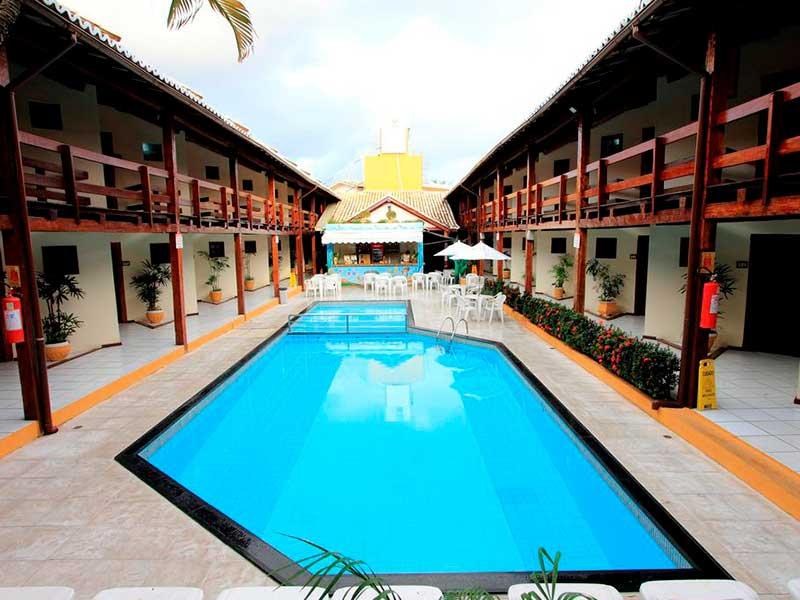 Adriáttico Hotel em Porto Seguro - Hotéis baratos em Porto Seguro