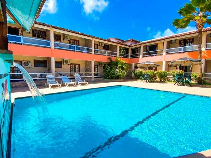 Malibu Porto Hotel em Porto Seguro na Bahia