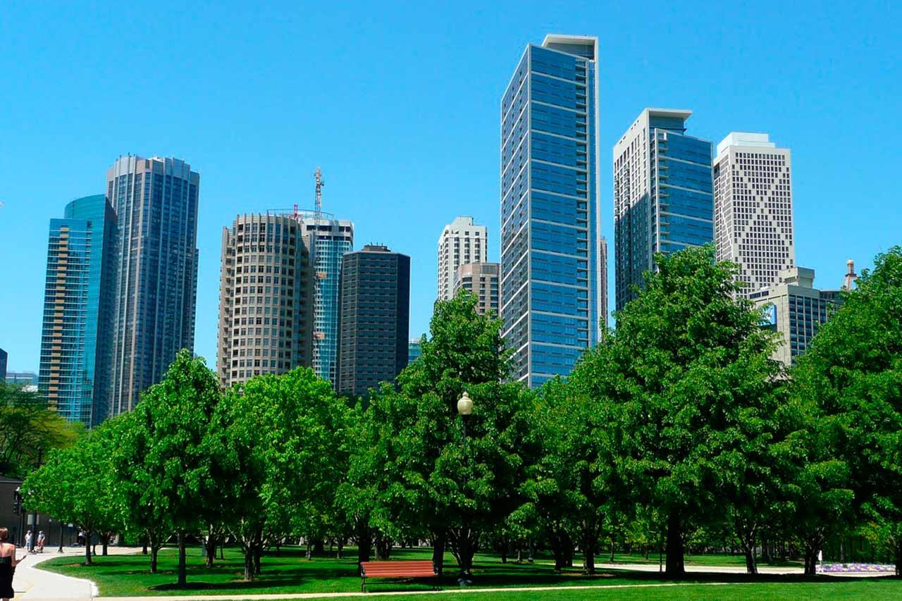 Chicago, Mapa