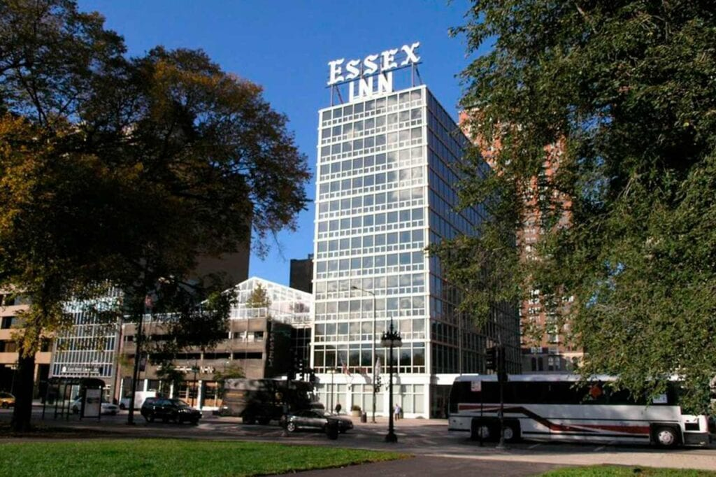 Hotel Essex Inn Chicago mapa