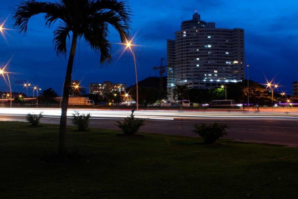 Onde fica a Cidade do Panamá?