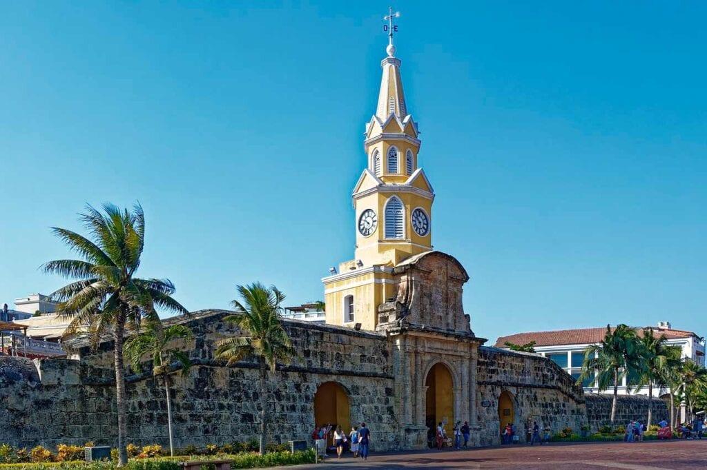 O que tem para fazer em Cartagena? Torre del Reloj