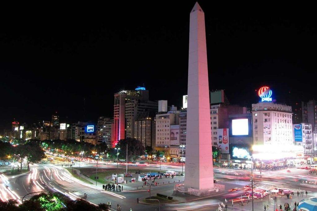 AV 9 de Julho Buenos Aires