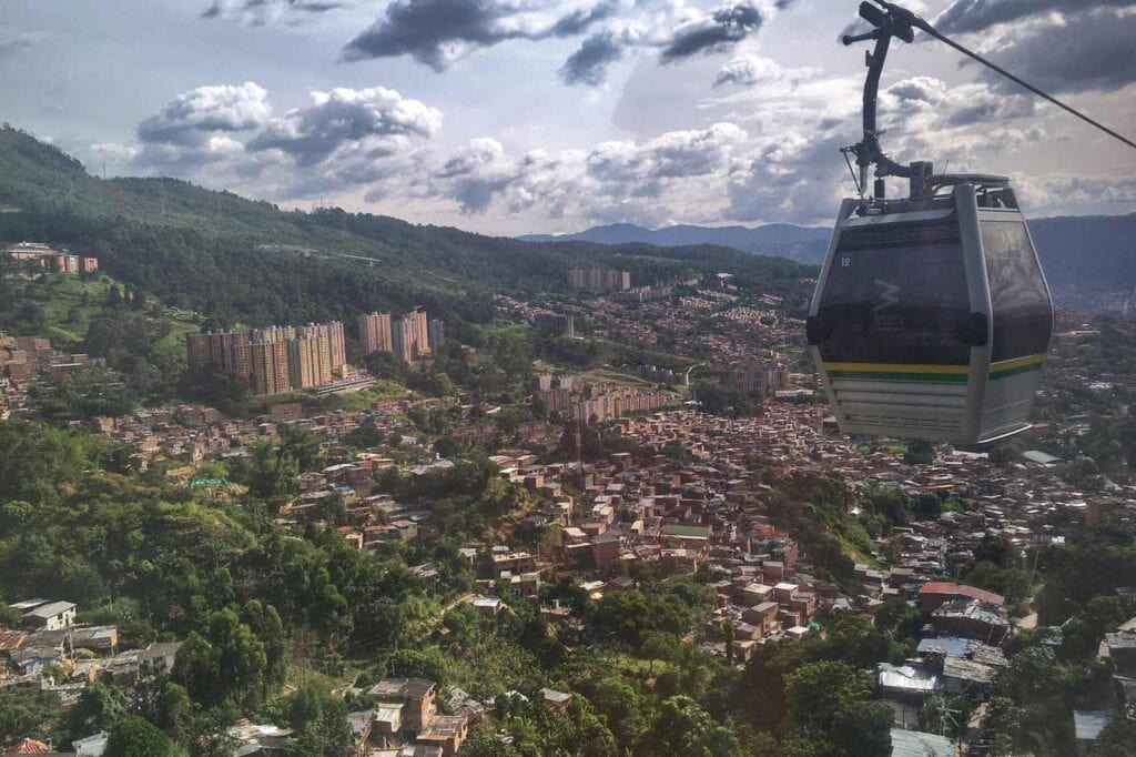 Como ir até Medellin?