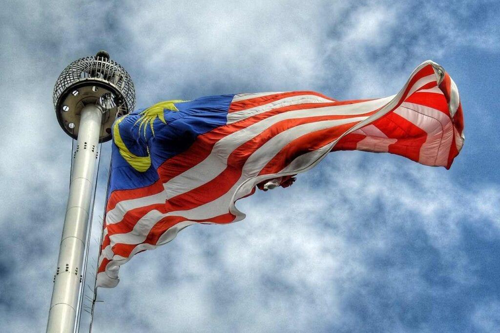 Onde está localizada a Malásia?