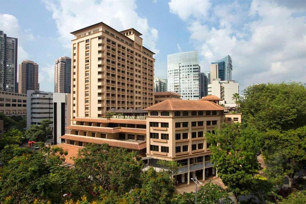 Hotéis em Orchard Road
