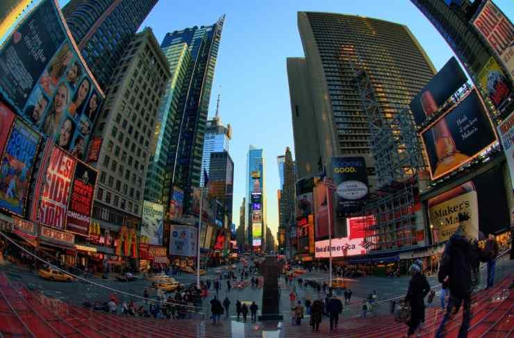 Pontos turísticos de Nova York times square
