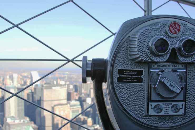Pontos turísticos de Nova York top of the rock