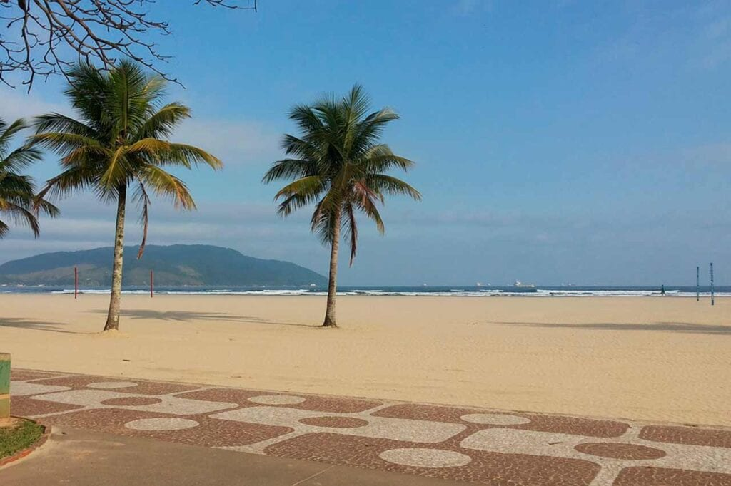 Quantas praias têm em Santos?