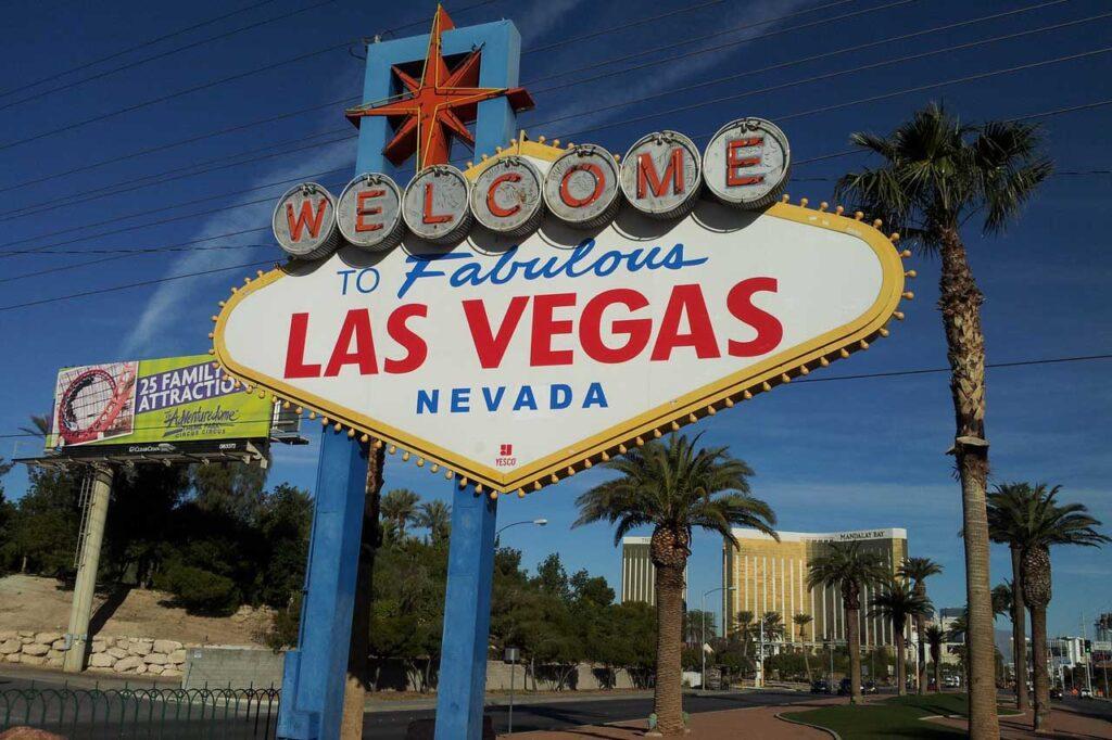 Onde fica Las Vegas?