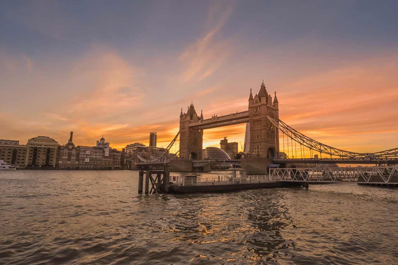 Onde fica Londres