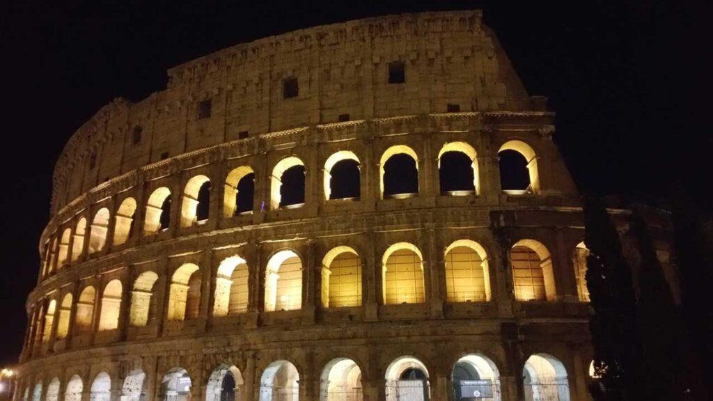 Coliseu Pontos Turísticos de Roma