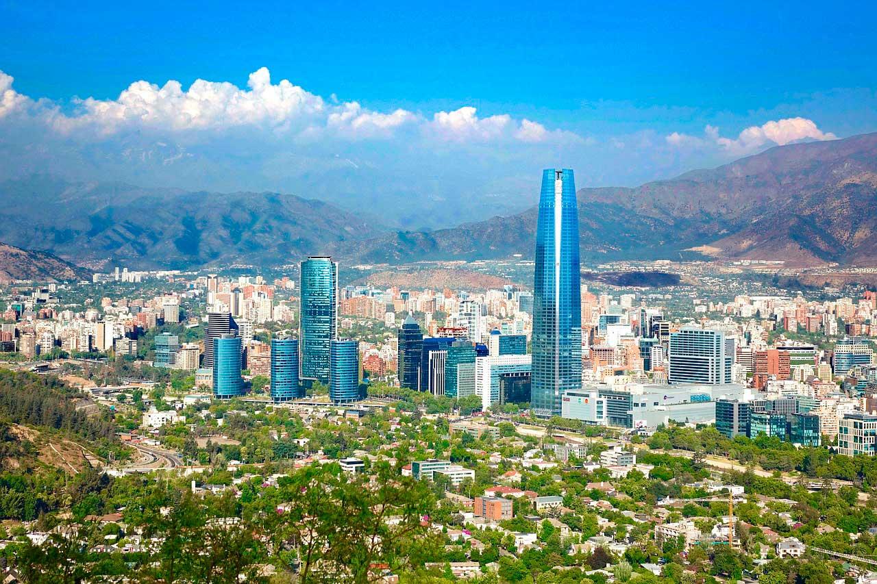 Pontos turísticos Santiago, Chile